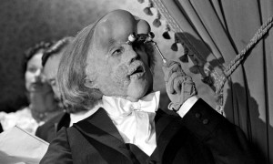 John Hurt as The Elephant Man